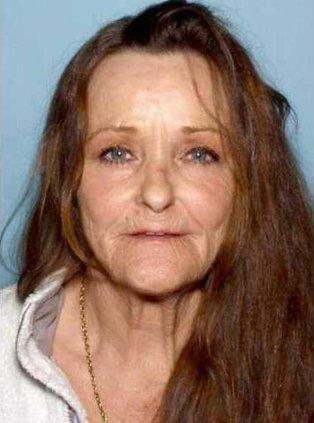 A-Missing woman Brown mug