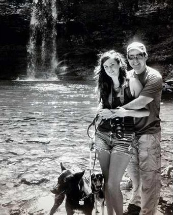 Engagement Skorich Holcomb pic