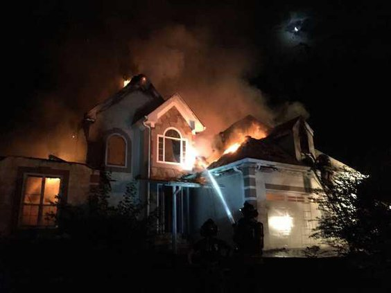 A-Three House Fires pic