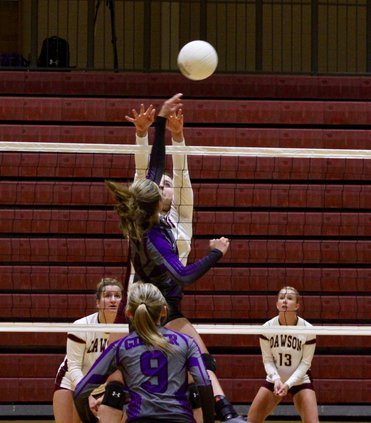 Roxie Fricton volleyball