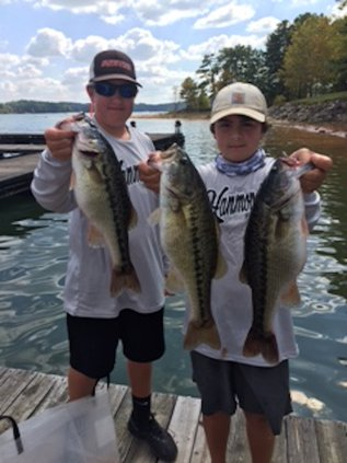 DCMS fishing tourney results