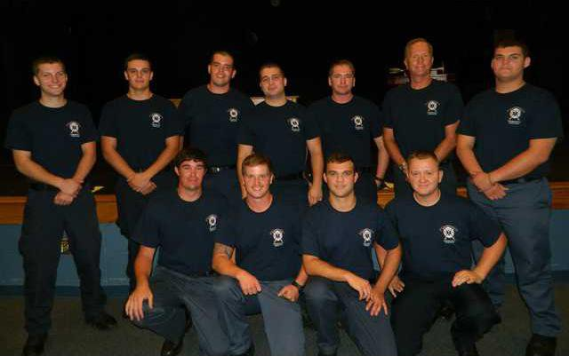 DCES new recruits graduate