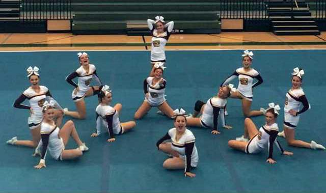 S-DCHS competiton cheerleaders