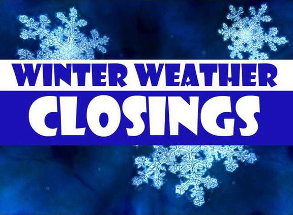 Weather closings for TM