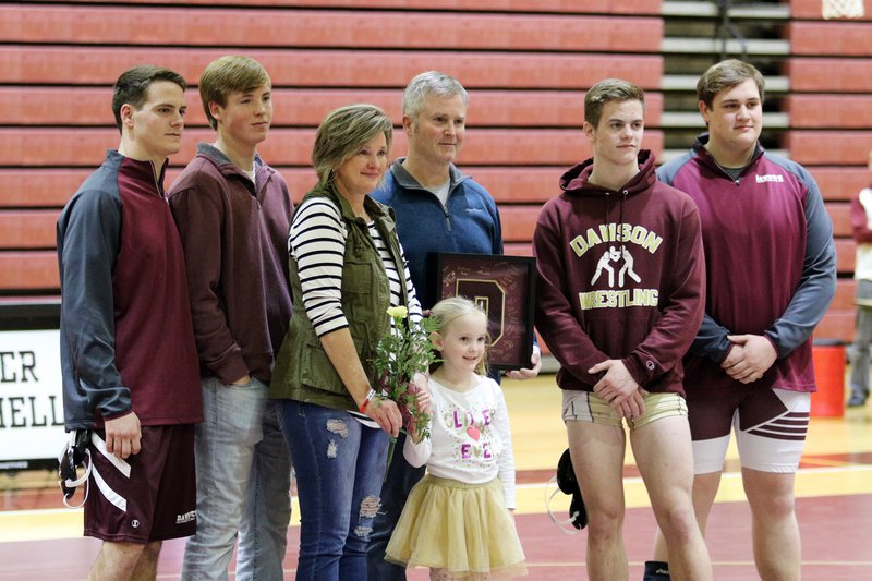 Wrestling senior night tribute 2