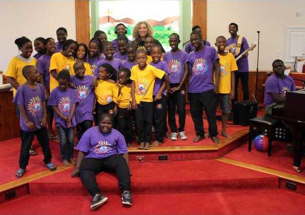 Haitian choir