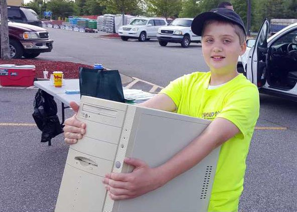 I-Electronic recycling pic1