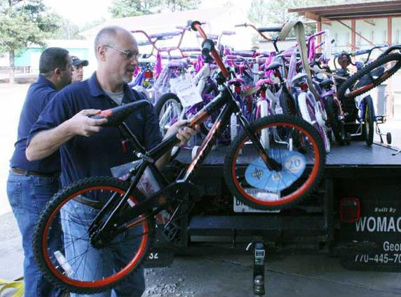 Nordson Bike Donation pic