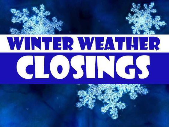 Weather closings
