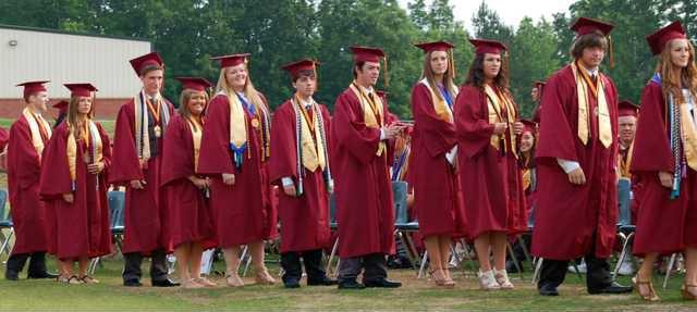 2 DCHS Graduation pic