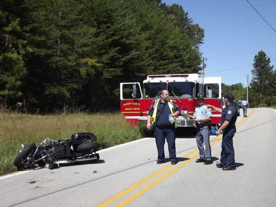 6 Motorcycle Wreck pic