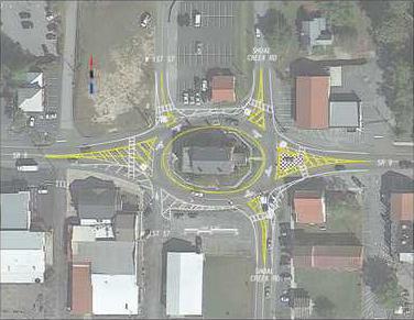 82WP Dawsonville Roundabout