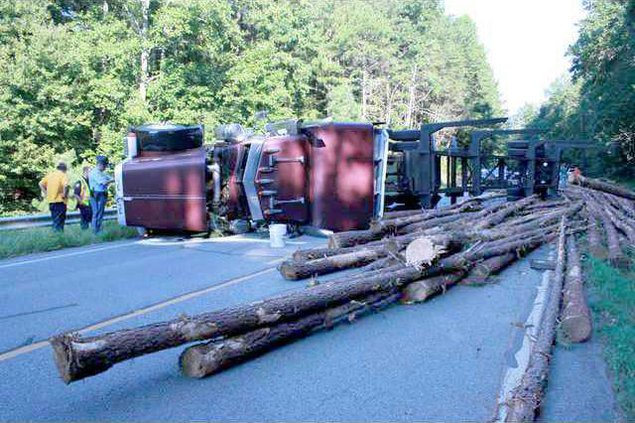 Log truck piclighter