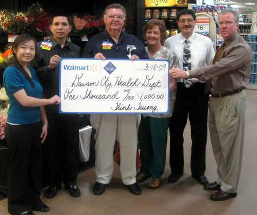 Wal-Mart donations pic2