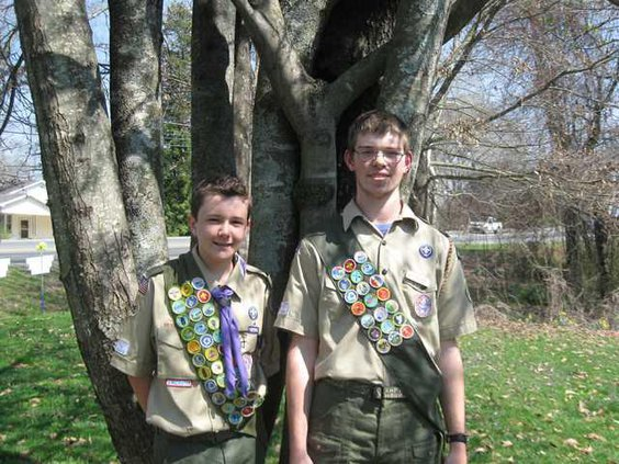 eagle scouts pic