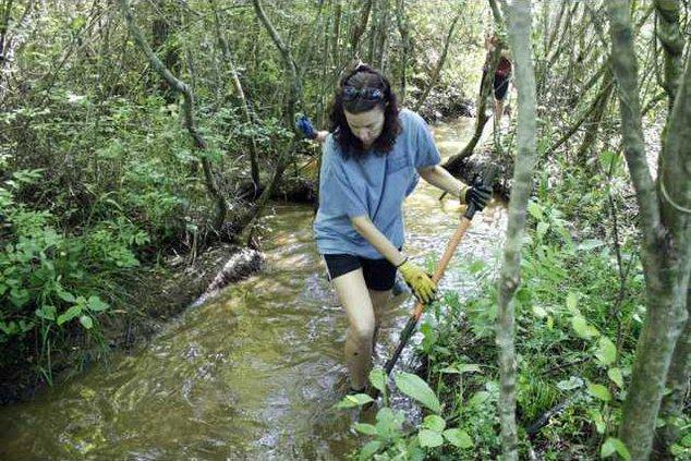 3. Rock Creek Park Cleanup pic1