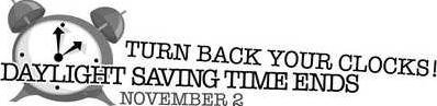 C3N1 Daylight Savings Time Ends