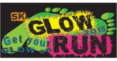 glow run 2018 logo