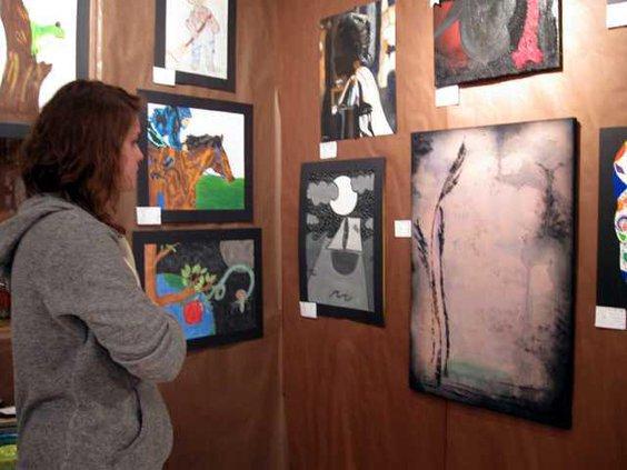 DCHS Art Show pic1