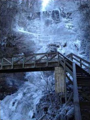 FED8 Amicalola Falls taken by Ben Umberger Tuesday morning  Jan. 8