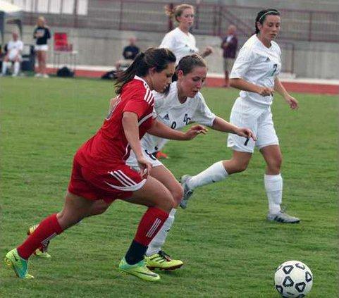 Girls Soccer vs. GAC pic1