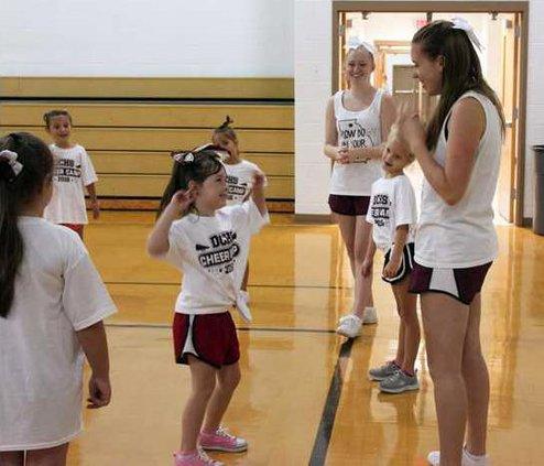 S-Cheerleading camp pic1