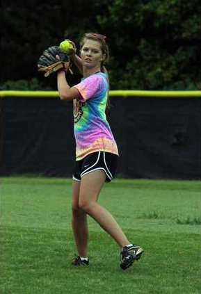 Softball Practice pic