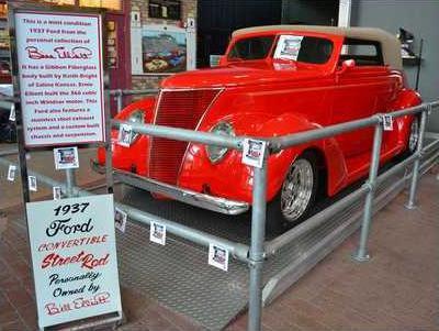 KJEX Win Bill Elliott 1937 car