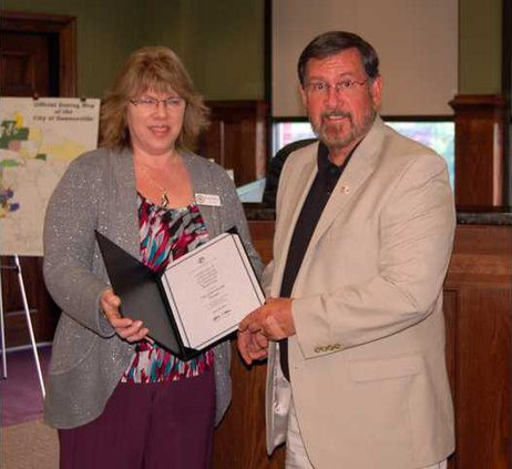 City Clerk awarded pic