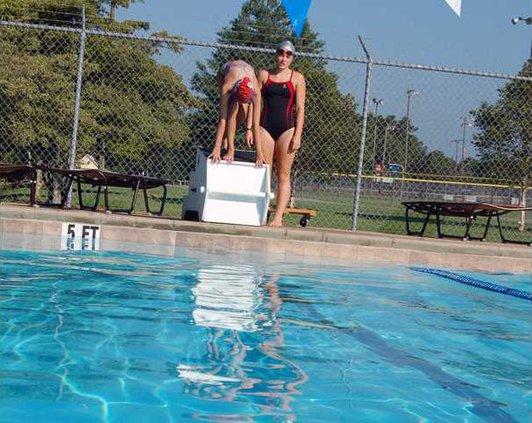 Swimming pic