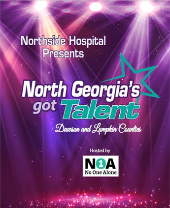 NOA talent show infographic