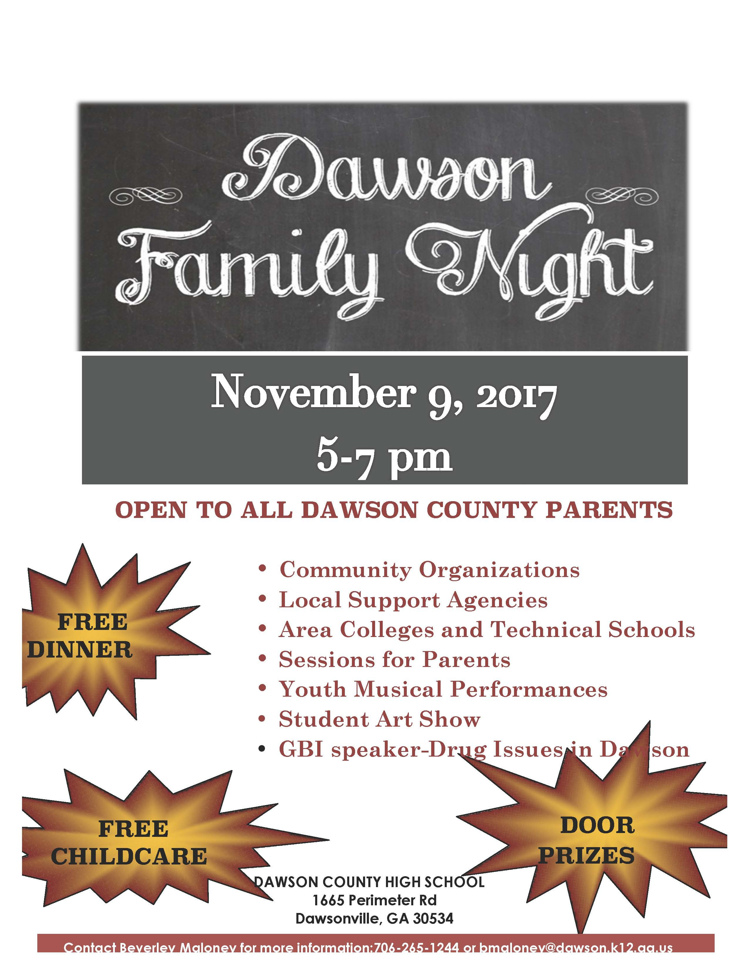 DCS Family Night