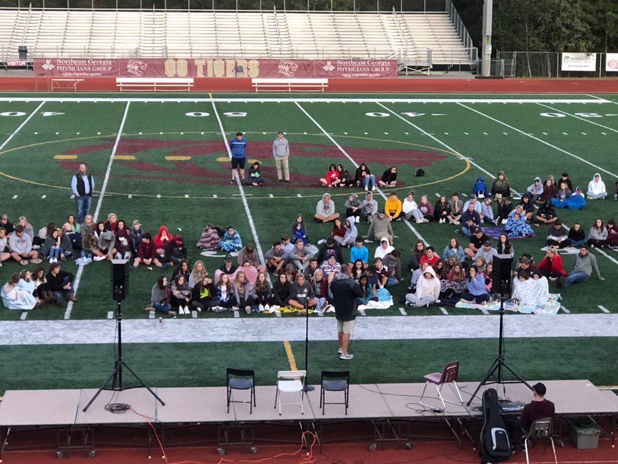 Fca S Fields Of Faith Brings Community Together For Special Night Dawson County News