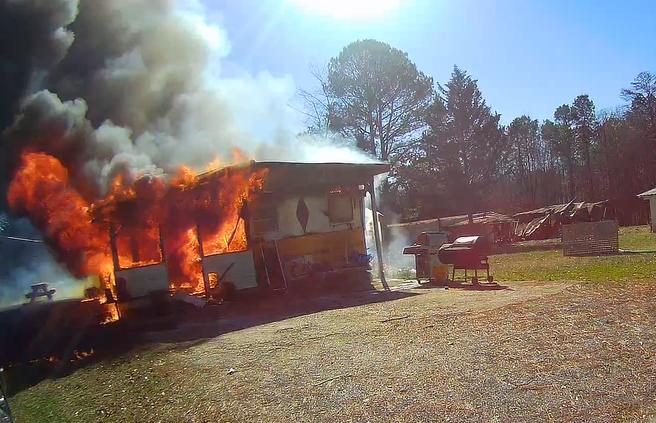 War Hill Park Fire