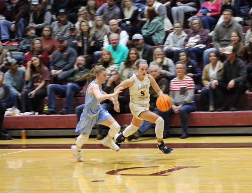 Lady Tigers 2 basketball Jan. 17