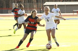 Lady Tigers soccer Feb. 21