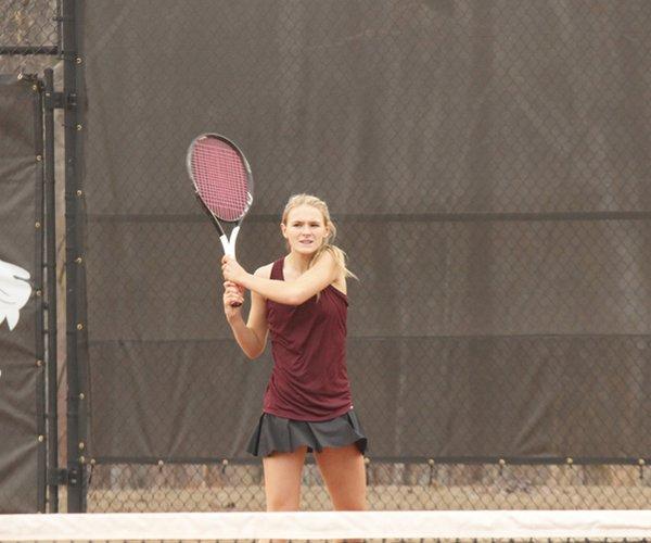 Tigers Tennis Feb. 25