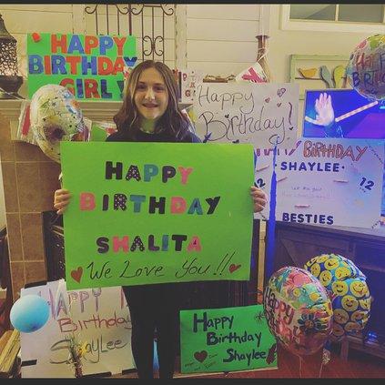 Shaylee birthday