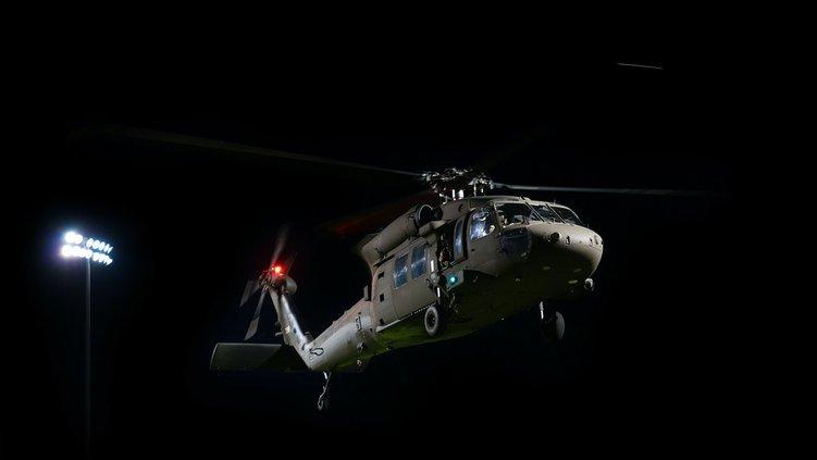 Georgia National Guard flyover