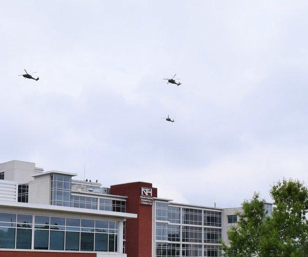 Memorial Day flyover