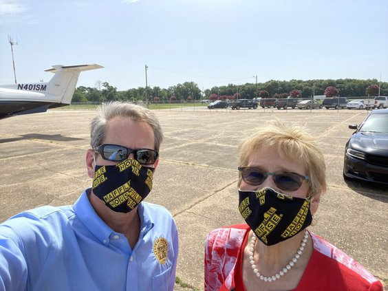 Kemp mask use