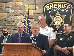 Drug investigation press conference