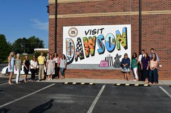 leadership dawson mural