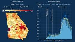 Georgia COVID-19 Trend 09-10-20