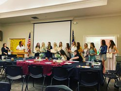 Volleyball banquet 11-17-20
