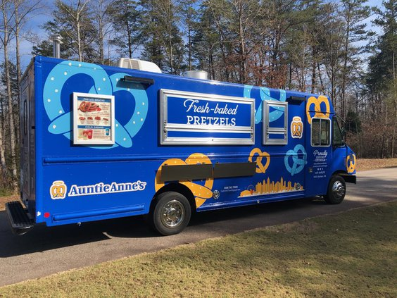 Auntie Anne's Food Truck 2