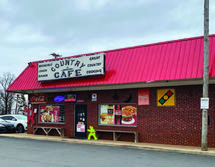 Country Cafe Exterior