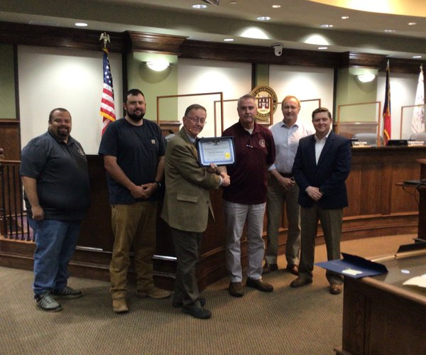 City employee recognitions 1