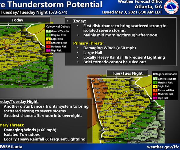 05-03-21 Dawson County severe weather