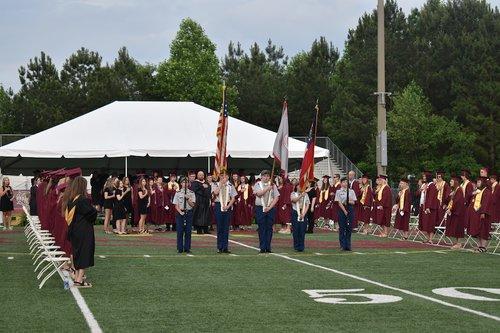 graduation 2021 flags